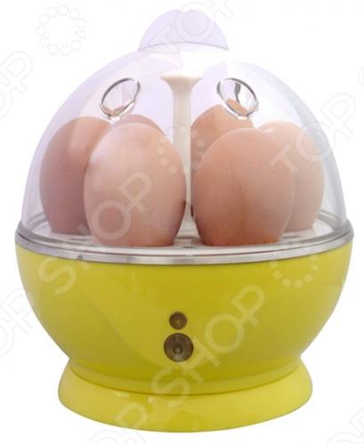 Яйцеварка RICCI ZDQ-601Яйцеварки<br>Яйцеварка RICCI ZDQ-601 станет отличным дополнением к набору ваших кухонных принадлежностей. Она представляет собой электрический прибор, предназначенный для приготовления яиц на пару. Вкус яиц при использовании яйцеварки получается намного лучше и нежнее, чем при обычной варке в воде. Есть возможность выбора желаемой степени готовности яиц: в мешочек , всмятку или вкрутую. При выпаривании воды, прибор автоматически отключается. Модель оснащена световой индикацией работы, нескользящими ножками и иглой-прокалывателем для предотвращения растрескивания скорлупы.<br>
