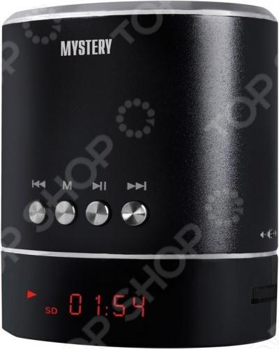 Портативный динамик Mystery MSP-117 портативный dvd плеер mystery mps 712 черный