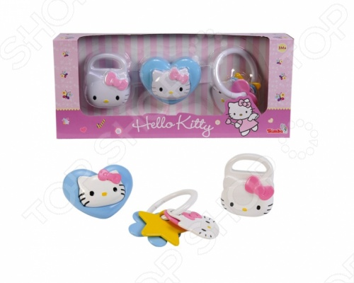 Набор игрушек-погремушек Simba Hello Kitty 95% new good working high quality for original th 42pz700c tnpa4245 logic board
