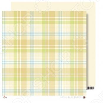 фото Бумага для скрапбукинга Rayher «Шотландка», купить, цена