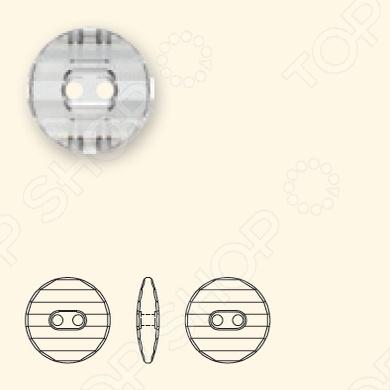 Пуговицы Swarovski 3035Иглы, булавки и другая фурнитура<br>Пуговицы Swarovski 3035 - красивая и изящная, станет прекрасным украшением любого изделия. Круглая пуговица имеет два отверстия для пришивания.<br>