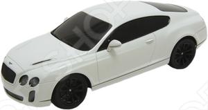 Модель машины на радиоуправлении 1:24 Welly Bentley Continental представляет собой модель, являющуюся точной копией настоящего автомобиля. Большая достоверность и похожесть настоящего транспортного средства обеспечивается наличием всех деталей, которые есть в реальной жизни: зеркалами заднего вида, выхлопной трубой, фарами. Движение осуществляется вперёд - назад, вправо - влево. Она будет прекрасным подарком для вашего малыша, так как это не только игрушка, но и полезная вещь, во время игры с которой у ребенка развивается мелкая моторика рук, воображение и фантазия.