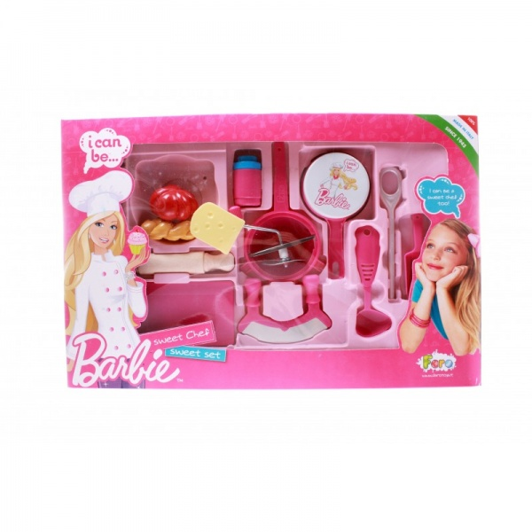 Набор овощной Faro Barbie faro dmc 420 145x85x220 white с разборным экраном
