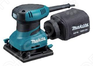 Машина шлифовальная вибрационная Makita BO4556 вибрационная шлифовальная машина metabo sr 2185 200 вт 600441500