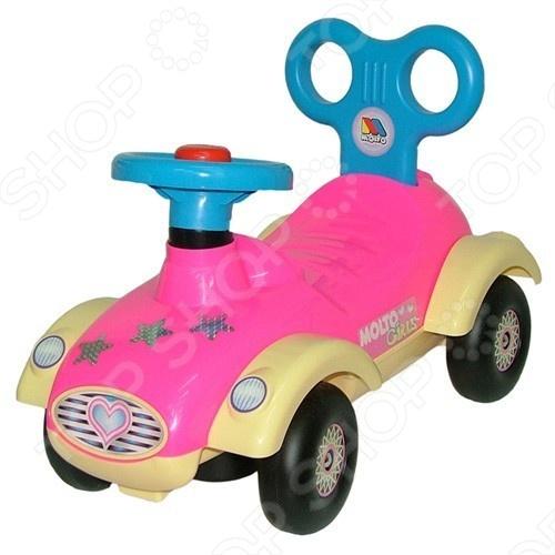 Машина-каталка Полесье «Сабрина»