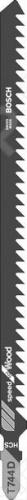 Набор пилок для лобзика Bosch T 744 D HCS набор пилок для лобзика bosch t 744 d hcs