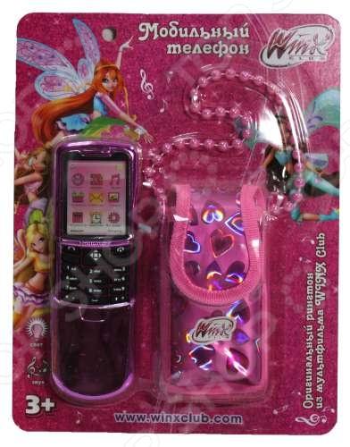 Телефон-слайдер мобильный игрушечный 1toy Т55634Детские обучающие планшеты, компьютеры и телефоны<br>Телефон-слайдер мобильный игрушечный 1toy Т55634 станет отличным подарком для маленьких поклонниц мультфильма Клуб Винкс: Школа волшебниц . Телефон выполнен в виде слайдера из высококачественных ударопрочных материалов и предназначен для детей в возрасте от 3-х лет. Игрушка оснащена звуковыми и световыми эффектами. В комплекте оригинальный розовый чехольчик на цепочке для хранения телефона.<br>