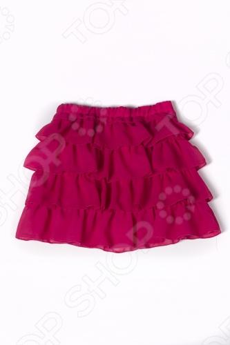 Юбка детская Appaman Ruffle Skirt. Цвет: фуксия