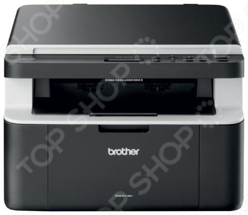 Многофункциональное устройство BROTHER DCP-1512R сочетает в себе принтер, сканер и копировальную машину. Подойдет для использования в домашних условиях или в малом офисе. Используется лазерная технология печати. Поддерживается печать на обычной бумаге, карточках, пленках, этикетках, глянцевой бумаге, конвертах.