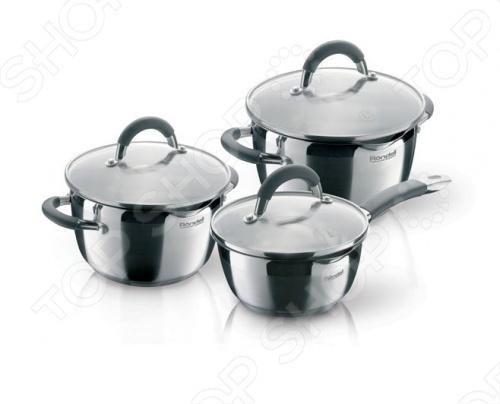 Набор кухонной посуды Rondell Flamme RDS-341 паззл castorland 1500 эл 68 47см парусник на закате