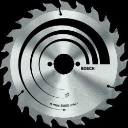Диск отрезной для ручных циркулярных пил Bosch Optiline Wood 2608640623 диск отрезной для ручных циркулярных пил bosch optiline wood 2608640623