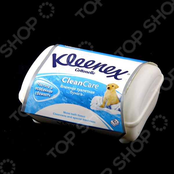 фото Бумага влажная туалетная для детей Kleenex 4584075, Уход за кожей
