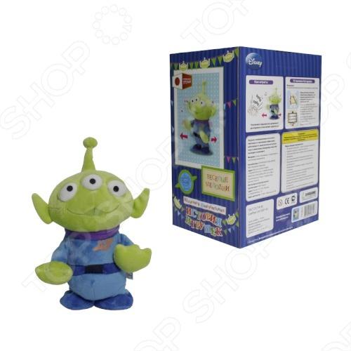 Мягкая игрушка интерактивная 1 TOY «Шагающий Инопланетянин»