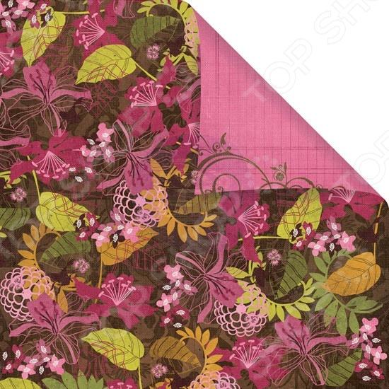 Бумага для скрапбукинга двусторонняя Prima Marketing Gathering Leaves бумага для скрапбукинга двусторонняя scrapberry s конфетти