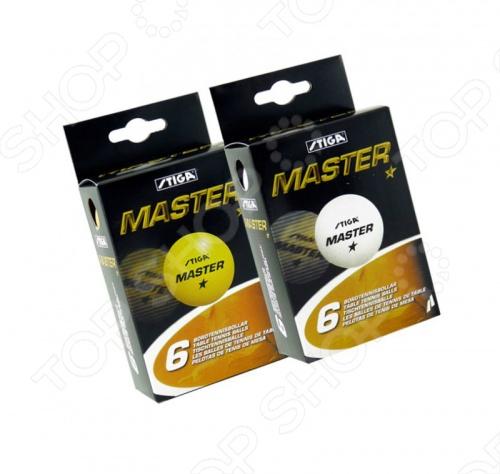 Мячи для настольного тенниса Stiga Master