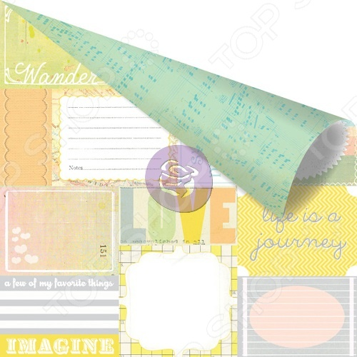 фото Бумага для скрапбукинга Prima Marketing Expressive, купить, цена