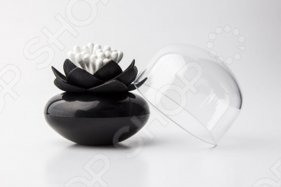 Контейнер для хранения ватных палочек Qualy Lotus помимо своей основной функции, будет прекрасным элементом декора в ванной или в спальне. Компания Qualy очень заботится и об окружающей среде. Вся продукция делается только из перерабатываемых материалов. Но самое главное это дизайн. Каждая вещь это отдельное произведение искусства, обязательно напоминающее нам о том, что мир состоит из ярких цветов.