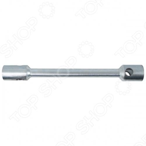 Ключ торцевой стержневой двухсторонний используется для монтажа и демонтажа резьбовых соединений. Ключ выполнен из инструментальной стали, которая существенно увеличивает срок службы изделия и надежность его применения. Имеет две торцевые головки разного размера.