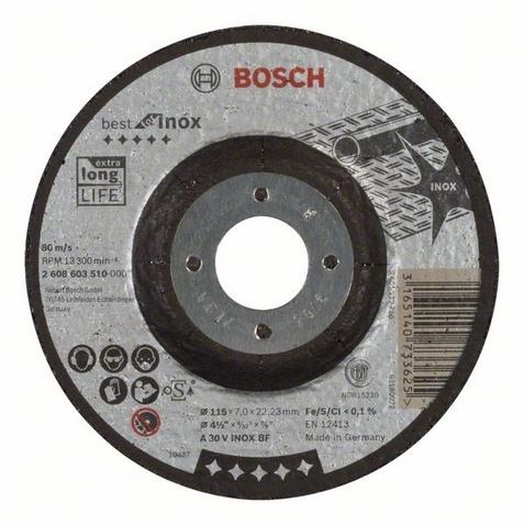 Круг обдирочный Bosch Best for Inox