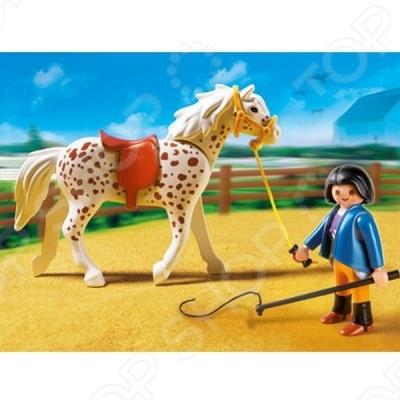 фото Конный клуб:Кнабструбская лошадь со стойлом Playmobil 5107 5107pm, Другие виды конструкторов