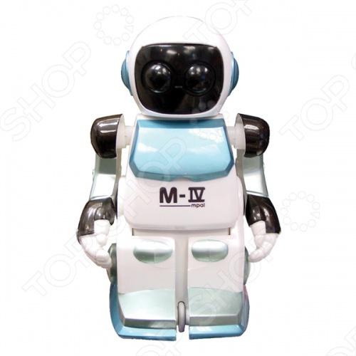 Робот на радиоуправлении Silverlit Moonwalker - детский робот с сенсорной системой реагирующая на звук. Оснащен световыми и звуковыми эффектами при движении. Если произвести пронзительный звук, типа хлопка ладошками, робот будет идти в то направление, откуда звук был издан. А инфракрасный датчик позволяет роботу обходить препятствия. Робот также умеет красиво танцевать. Он готов подарить отличное времяпрепровождение и массу удовольствия вам, и вашим детям.