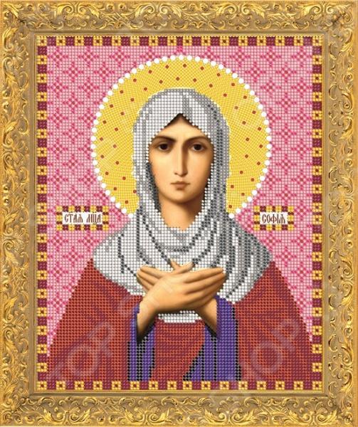 Набор для вышивания бисером Светлица «Святая мученица София»