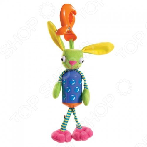 Развивающая игрушка Tiny love Зайчик-колокольчик россия ёлочная игрушка колокольчик рябина