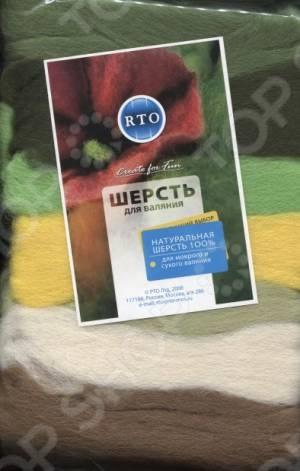 Шерсть для валяния RTO WF100/6