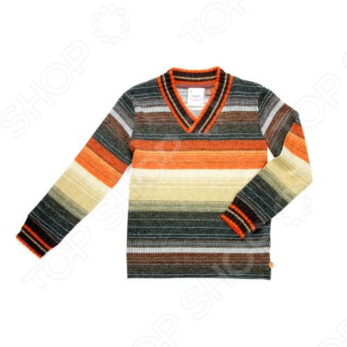 Дизайнер и поклонник гольфа из Калифорнии Пол Нгуйен создает модную одежду уже более 14 лет. Любовь к игре в гольф и рождение его малышей вдохновила на создание собственной линии одежды для маленьких модников. При создании коллекции Пол опирался на историю гольфа и собственный вкус, вводя новшества и создавая модный, современный стиль. Fore!! Axel and Hudson создаёт большинство своих изделий из супермягкого и экологичного бамбукового волокна. Ткань из бамбука имеет множество замечательных свойств. Первое и самое важное, это его необыкновенная мягкость при носке ощущается как шелковый кашемир. Это высококлассный продукт: он гипоалергенный и терморегулируемый, легок в уходе можно стирать при 40 градусах, как и обычный хлопок . Ткань из бамбука не пропускает УФ-излучение. Превосходный пуловер Fore!! Axel and Hudson с элегантным V-образным вырезом горловины. Модель вязаной фактуры подарит абсолютный комфорт и уют. Эластичные вставки на манжетах и снизу изделия для наиболее удобной посадки.