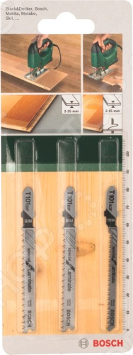 Набор пильных полотен Bosch SET T BIM bosch bosch 10 zhi отвертка головы set easy успеха зеленый [6949509201188]