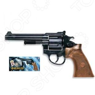 Пистолет Edison Giocattoli Avenger Polizei пистолет edison giocattoli ларами
