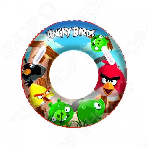 Круг надувной Angry Birds 96103B - это отличный детский, сделанный из прочного материала круг для плавания с рисунками героев популярной игры. Круг подарит море позитива, веселое времяпрепровождение, а также улыбку на лице ребенка. Разумная цена, хорошее качество.