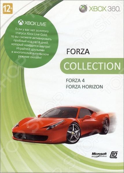 фото Игра для Xbox 360 Microsoft Forza 4 + Forza Horizon (rus), Игры для игровых консолей