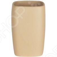 Стакан керамический Spirella RETRO - это прекрасный аксессуар в вашу ванную комнату. Благодаря такой вещице зубные щетки всегда будут на месте в этом красивом и стильном стакане. Стакан выполнен из керамики. Керамика безопасна, надежна и долговечна, потому стакан сохранит свой внешний вид надолго. Кроме того, изделия из керамики смотрятся стильно и всегда на пике моды. Данная модель создаст особую атмосферу уюта и обеспечит максимальный комфорт в ванной комнате. Размер - 7,0 x 11,0 см.
