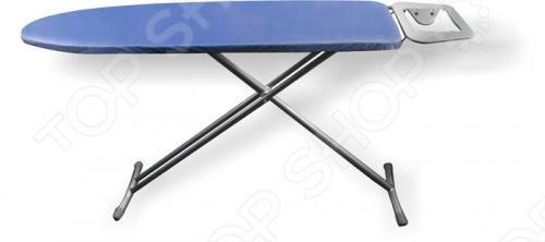 Доска гладильная Vitesse VS-1876Гладильные доски<br>Гладильная доска Vitesse VS-1876 изготовлена по особой пароотражающей технологии с хлопковым покрытием поверхности. Благодаря отражающему слою достигается возвращение тепла или пара от утюга и белье проглаживается с двух сторон. Максимальную устойчивость и прочность гладильной доске Vitesse VS-1876 обеспечат стальные нескользящие ножки. Также есть возможность регулировки по высоте, встроенная розетка и подставка для утюга. В комплекте идет маленькая доска для утюжки мелких деталей.<br>