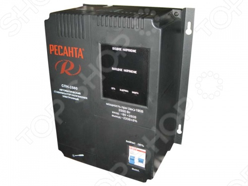 Стабилизатор напряжения Ресанта СПН 2500