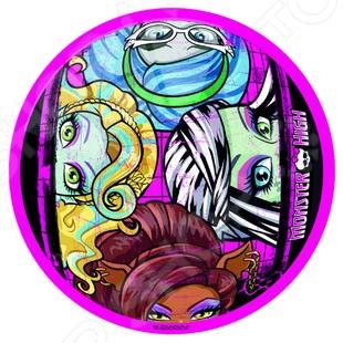 Мяч Mondo «Школа монстров» набор для плетения фенечек fashion angels школа монстров