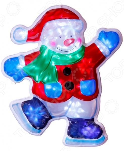 Декорация рождественская Star Trading Снеговик