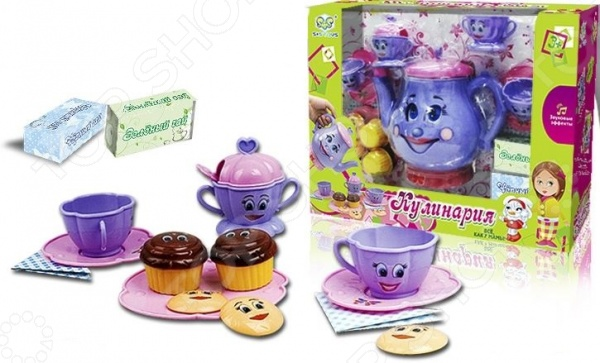 Сервиз чайный игрушечный S+S Toys СС75466