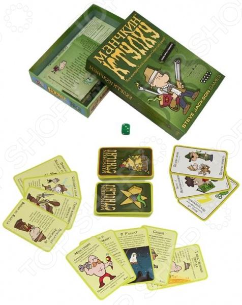 Игра настольная Мир Хобби «Манчкин Ктулху» настольная игра расхитители подземелий dungeon raiders