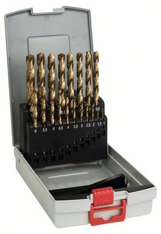 Набор сверл по металлу Bosch 2608587015 пилки для лобзика по металлу для прямых пропилов bosch t118a 1 3 мм 5 шт