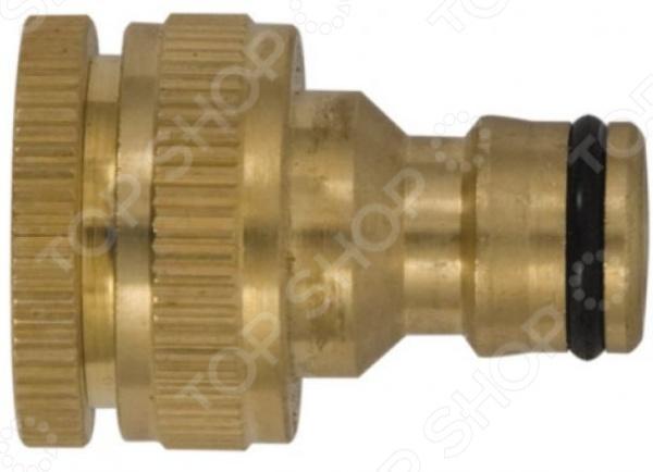 Адаптер внешний FIT предназначен для использования в качестве переходника между соединителем и водопроводной трубой. Изделие выполнено из качественной полированной латуни, практично и удобно в применении. Уплотнительное кольцо на конце адаптера обеспечивает надежное соединение, защищая от протекания воды.