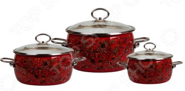 Набор посуды Vitross Imperio №14 кастрюли тефаль из нержавеющей стали отзывы