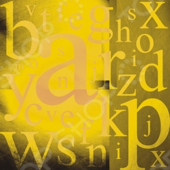 фото Бумага для скрапбукинга Rayher «Буквы на желтом», купить, цена
