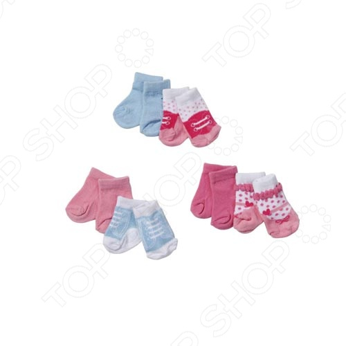 Zakazat.ru: Носки для куклы Zapf Creation BABY born