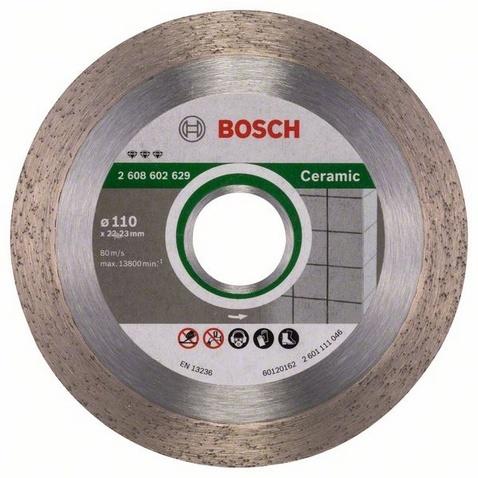 Диск отрезной алмазный для угловых шлифмашин Bosch Best for Ceramic диск отрезной алмазный турбо 115х22 2mm 20006 ottom 115x22 2mm