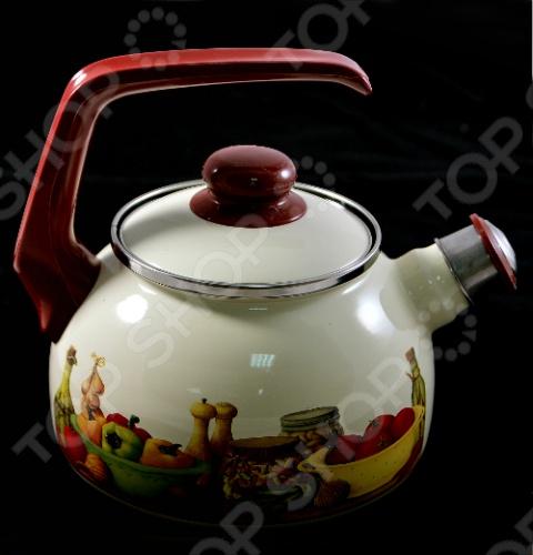 Чайник со свистком Metrot Картина
