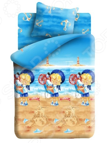 Комплект постельного белья Непоседа Морячок это незаменимый элемент детской спальни. Чтобы вы были спокойны, сон вашего ребенка комфортным, а пробуждение приятным, мы предлагаем вам этот комплект постельного белья. Приятный цвет и высокое качество комплекта гарантирует, что атмосфера спальни наполнится теплотой и уютом, а ваш малыш испытает множество сладких мгновений спокойного сна. В качестве сырья для изготовления этого изделия использованы нити хлопка. Натуральное хлопковое волокно известно своей прочностью и легкостью в уходе. Волокна хлопка состоят из целлюлозы, которая отлично впитывает влагу. Хлопок дышит и согревает лучше, чем шелк и лен. Поэтому одежда из хлопка гарантирует владельцу непревзойденный комфорт, а постельное белье приятно на ощупь и способствует здоровому сну. Не забудем, что хлопок несъедобен для моли и не деформируется при стирке. За эти прекрасные качества он пользуется заслуженной популярностью у покупателей всего мира. Комплект постельного белья Непоседа Морячок выполнен из ткани бязь. Бязь это одна из самых популярных тканей. Постоянному спросу на такую ткань способствует то, что на протяжении многих лет она остаётся незаменимой в производстве постельного белья, медицинской одежды, мужских сорочек и даже детских пеленок. Это объясняется уникальными свойствами такой ткани: она неприхотлива и долговечна. Постельное белье торговой марки Непоседа позволит даже самому взыскательному покупателю найти продукт по душе и разнообразить интерьер детской комнаты.