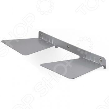 Полка книжная двойная Umbra Conceal это оригинальное дизайнерское решение для вашей квартиры. Полка практически незаметна и возникает ощущение, что книги просто висят в воздухе. Полка легко крепится к стене, все необходимое входит в комплект. Хрупкая на вид она может выдержать до 13 килограмм веса. Размещайте на стене несколько полок и создавайте свой собственный неповторимый интерьер в квартире. Umbra это компания, которая уже более 30 лет занимается производством оригинальных домашних аксессуаров. Сегодня Umbra признана в 118 странах мира, в том числе и в России, одним из лидеров в области оригинального, доступного и простого современного дизайна для дома и интерьера. Umbra создает и производит уникальные вещи превосходного качества для оформления интерьера гостиных, спален, кухонь и ванных комнат.