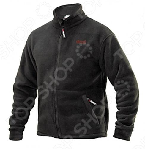 Куртка Outdoor Tramp Comfort TRMF-009Верхняя одежда<br>Куртка Tramp Outdoor Comfort TRMF-009 на молнии с высоким воротом имеет анатомический крой, а низ регулируется эластичным шнуром. Боковые карманы выполнены из трикотажной сетки, внутренний карман застегивается на молнию. Необыкновенно легкая, эластичная, превосходно дышит, не впитывает влагу. Имеет антибактериальную обработку. Анатомичный крой не сковывает движения. Максимально допустимая температура ношения при соблюдении принципа многослойности одежды: -30 С.<br>